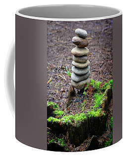 Coffee Mug featuring the photograph Stacked Stones And Fairy Tales II by Marco Oliveira