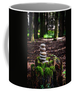 Coffee Mug featuring the photograph Stacked Stones And Fairy Tales IIi by Marco Oliveira