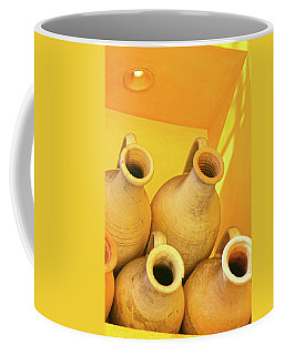 Stacked Yellow Jars Coffee Mug