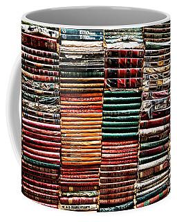 Stacks Of Books Coffee Mug