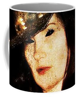 Coffee Mug featuring the digital art Stacy 1 by Mark Baranowski