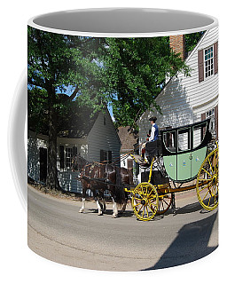 Coffee Mug featuring the photograph Stage Coach by Eric Liller