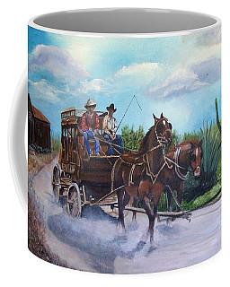 Stagecoach Coffee Mug by Catherine Swerediuk