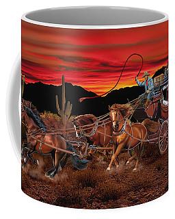 Stagecoach Cowboys Coffee Mug