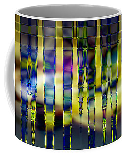 Stained Glass Coffee Mug by Cathy Donohoue