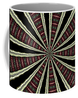 Coffee Mug featuring the photograph Stained Glass Kaleidoscope 14 by Rose Santuci-Sofranko