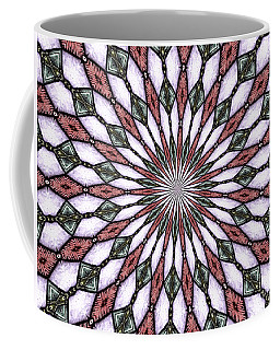 Coffee Mug featuring the photograph Stained Glass Kaleidoscope 2 by Rose Santuci-Sofranko