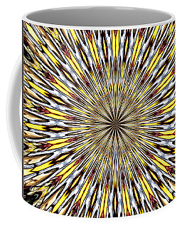 Coffee Mug featuring the photograph Stained Glass Kaleidoscope 22 by Rose Santuci-Sofranko