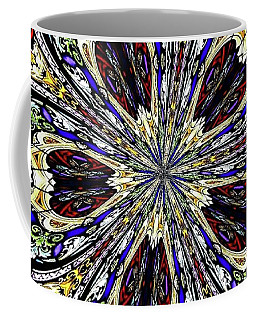 Coffee Mug featuring the photograph Stained Glass Kaleidoscope 38 by Rose Santuci-Sofranko