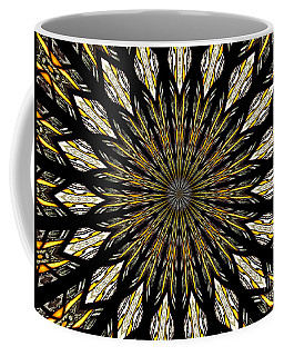 Coffee Mug featuring the photograph Stained Glass Kaleidoscope 5 by Rose Santuci-Sofranko