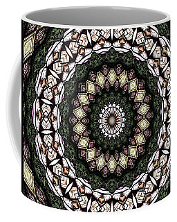 Coffee Mug featuring the photograph Stained Glass Kaleidoscope 6 by Rose Santuci-Sofranko
