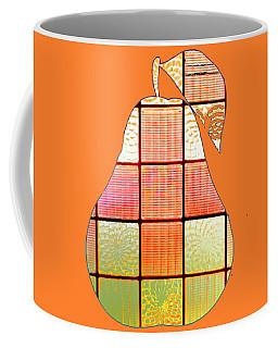 Stained Glass Pear Coffee Mug