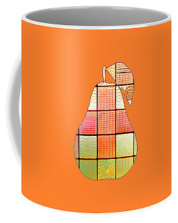 Stained Glass Pear Coffee Mug