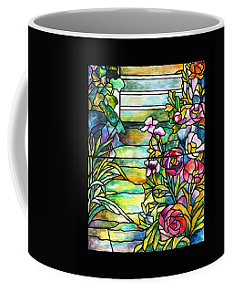 Stained Glass Tiffany Robert Mellon House Coffee Mug