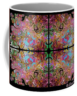 Stained Glass Window Coffee Mug by Loxi Sibley