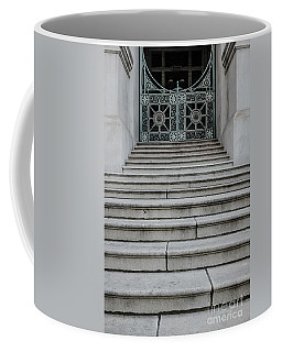 Staircase With Metal Gate Providence Rhode Island Coffee Mug