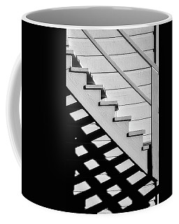 Stairs In Black And White Coffee Mug