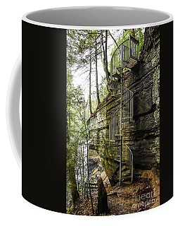 Stairs To Heaven Coffee Mug by Debbie Green