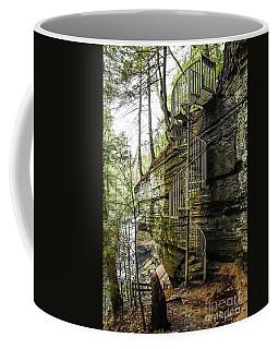 Stairs To Heaven Coffee Mug by Debbie Green