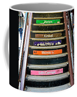 Stairs To The Chicago L Coffee Mug