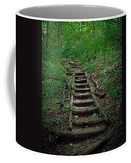 Stairway At Unicoi Gap On The At Coffee Mug