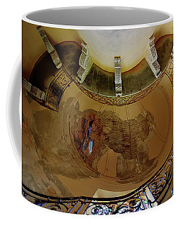 Coffee Mug featuring the photograph Stairway Ellipse - Scala Ellisse by Enrico Pelos