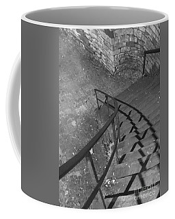 Stairway In Black And White Coffee Mug