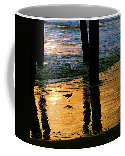 Coffee Mug featuring the photograph Stalking Shadows by Howard Bagley