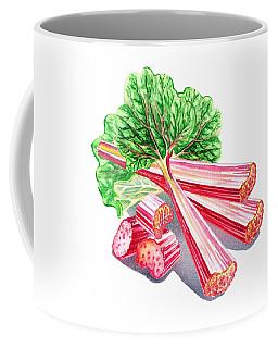 Rhubarb Coffee Mugs