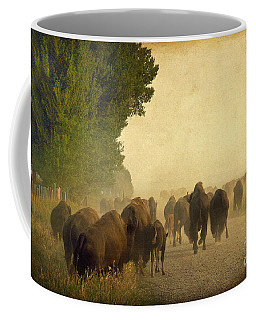 Stampede Coffee Mug by Teresa Zieba