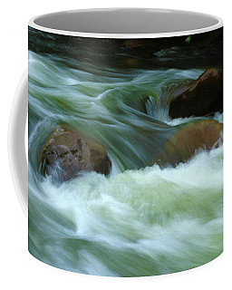 Coffee Mug featuring the photograph Stand Like A Rock by Marie Leslie