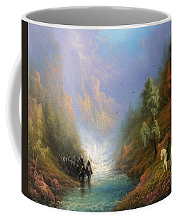 Arwen And Frodo Stand Off At The Ford Coffee Mug by Joe Gilronan