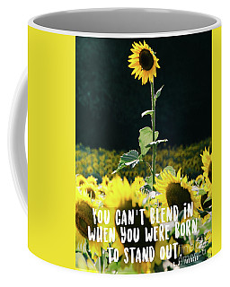 Coffee Mug featuring the photograph Stand Out by Andrea Anderegg