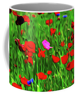 Coffee Mug featuring the digital art Stand Out by Timothy Hack