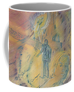 Standing At The Crossroads Coffee Mug
