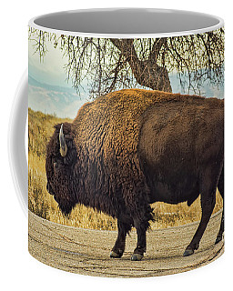 Standing Buffalo Coffee Mug