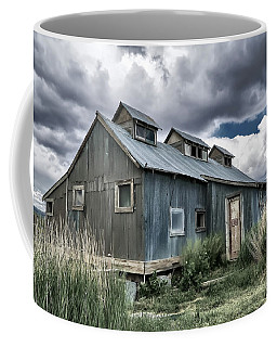 Standing Firm Against The Elements Coffee Mug