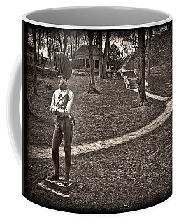 Standing Guard At Heldenberg  Coffee Mug