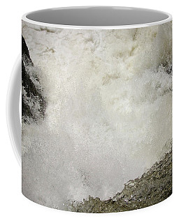 Standing On A Waterfall Coffee Mug