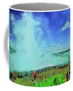 Standing On The Brink Coffee Mug