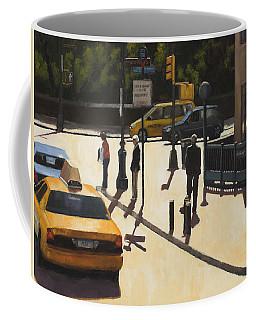 Standing On The Corner Coffee Mug
