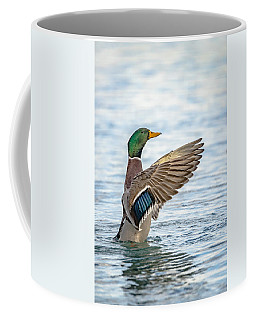 Coffee Mug featuring the photograph Standing Ovation by Steven Santamour