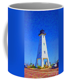 Standing Proud Lighthouse Coffee Mug