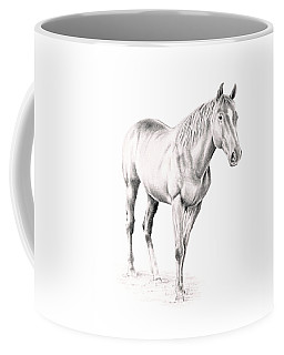 Standing Racehorse Coffee Mug