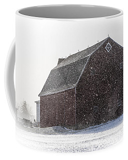 Standing Tall In The Snow Coffee Mug