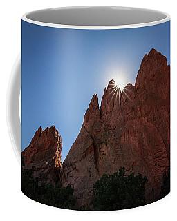 Standstone Sunburst - Garden Of The Gods Colorado Coffee Mug