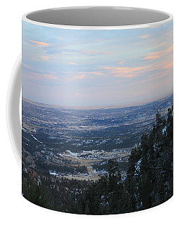 Coffee Mug featuring the photograph Stanley Canyon View by Christin Brodie