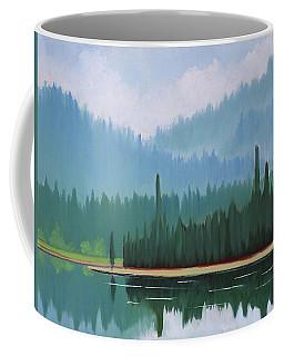 Stanley Lake - Far Shore Coffee Mug
