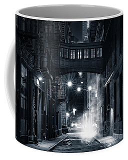Staple Street Skybridge By Night Coffee Mug by Mihai Andritoiu