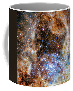 Coffee Mug featuring the photograph Star Cluster R136 by Marco Oliveira